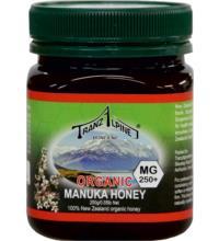 TranzAlpine Manuka Honig MGO 250, 250 gr Glas - cremig -