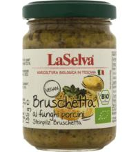 La Selva Bruschetta Steinpilz, 135 gr Glas