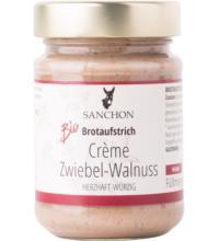 Sanchon Crème Zwiebel-Walnuss, 190 gr Glas