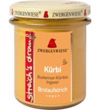 Zwergenwiese streich´s drauf Kürbi, 160 gr Glas - Kürbis / Ingwer -