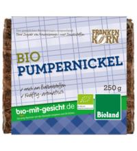 Frankenk Pumpernickel, 250 gr Packung