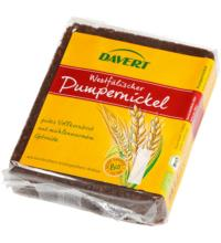 Davert Pumpernickel, 250 gr Packung