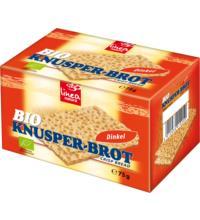 linea natura Knusperbrot Dinkel Waffelbrot, 75 gr Packung