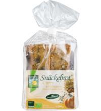 Bohlsener Curry & Kürbiskern Snäckebrot, 200 gr Packung