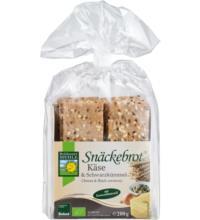 Bohlsener Schwarzkümmel & Käse Snäckebrot, 200 gr Packung