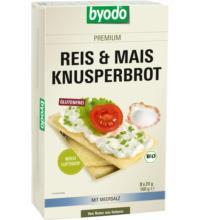 byodo Reis & Mais Knusperbrot,160 gr Packung -glutenfrei-