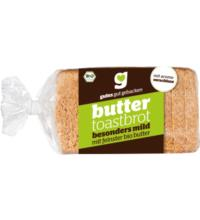 gutes gut gebacken Buttertoast, 250 gr Packung