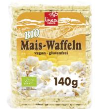 linea natura Maiswaffel, dünn & rechteckig, 140 gr Packung -glutenfrei-