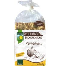 Bohlsener Vollkorn Bäckerknäcke Käse Kürbiskerne, 200 gr Packung