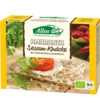 Allos Amaranth Knäcke mit Sesam (Vollkorn), 250 gr Packung