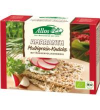Allos Amaranth-Multigrain- Vollkornknäcke, 250 gr Packung
