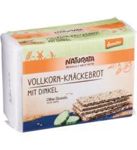 Naturata Vollkorn-Knäckebrot mit Dinkel, 250 gr Packung