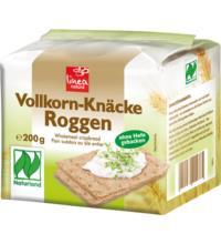 linea natura Naturland Roggen Knäcke Vollkorn, 200 gr Packung