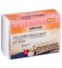 Naturata Vollkorn-Knäckebrot mit Sesam, 250 gr Packung