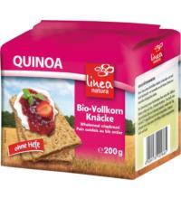 linea natura Quinoa Vollkorn Knäcke, 200 gr Packung