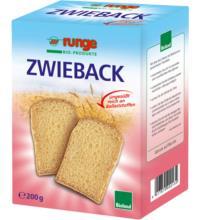 runge Weizen - Vollkornzwieback, 200 gr Packung