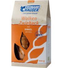 Erdmannh Dinkelzwieback Anis demeter, 200 gr Packung