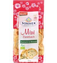 Sommer Dinkel Minis Rosmarin, 100 gr Packung