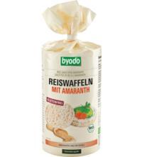 byodo Reiswaffeln mit Amaranth, 100 gr Packung -glutenfrei-