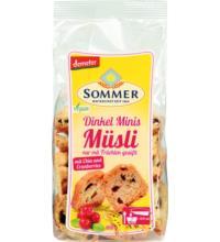 Sommer Mini Zwieback Müsli, 100 gr Packung