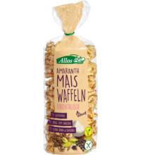 Allos Amaranth-Mais-Waffeln orientalische Gewürze, 100 gr Packung
