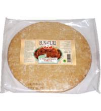 Eunature Pizzaböden Vollkorn, (2 Stück), 300 gr Packung original ital. Art