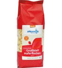 Spielberger Haferflocken Großblatt, 375 gr Packung -glutenfrei-