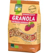 Bohlsener Granola Erdbeer-Himbeer, 350 gr Packung