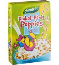 dennree Dinkel-Honig-Poppies, 375 gr Packung