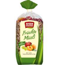 Rosengarten Früchte-Müsli, 750 gr Packung