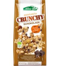 Allos Amaranth Crunchy Schoko, 400 gr Packung