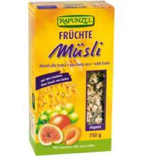 Rapunzel Früchte Müsli, 750 gr Packung