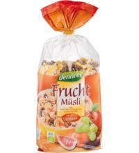 dennree Früchte Müsli, 750 gr Packung