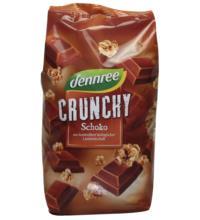 dennree Schoko Crunchy, 750 gr Packung