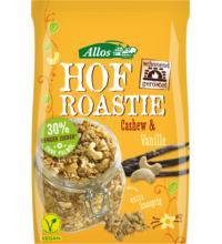 Allos Hof Roastie Cashew-Vanille, 300 gr Packung