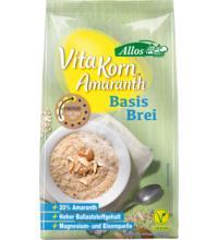 Allos Amaranth Basis Brei - Vita Korn, 400 gr Packung