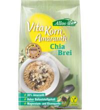 Allos Amaranth Chia Brei - Vita Korn, 400 gr Packung