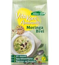 Allos Amaranth Moringa Brei - Vita Korn, 400 gr Packung