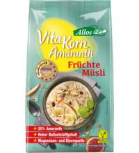 Allos Amaranth Früchte Müsli - Vita Korn, 375 gr Packung