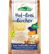 Allos Hof-Brei Bircher mit Amaranth, 400 gr Packung