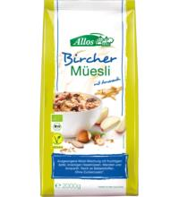 Allos Bircher Müsli, 2 kg Packung
