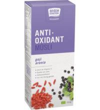 Rosengarten Antioxidant-Müsli Recharge Goji Aronia, 350 gr Packung
