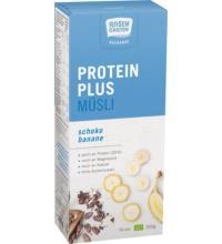 Rosengarten Protein-Plus-Müsli Recharge Schoko Banane, 350 gr Packung