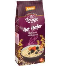 Bauck Hof Hot Hafer Beere, 400 gr Packung -glutenfrei-