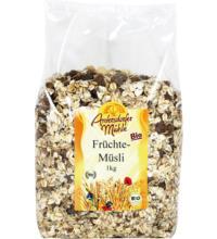 Antersdorfer Mühle Früchtemüsli Classic, 1 kg Packung