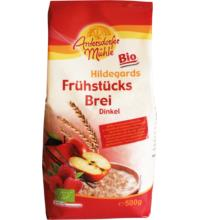 Antersdorfer Mühle Frühstücksbrei Dinkel Hilde, 500 gr Packung