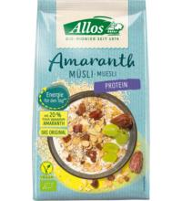 Allos Amaranth Protein Müsli, 375 gr Packung