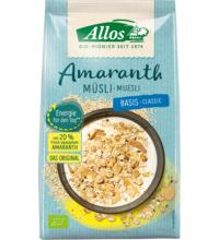 Allos Amaranth Basis Müsli, 1,5 kg Packung