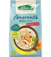 Allos Amaranth Früchte Müsli, 1,5 kg Packung