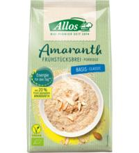 Allos Amaranth Frühstücksbrei Basis, 400 gr Packung